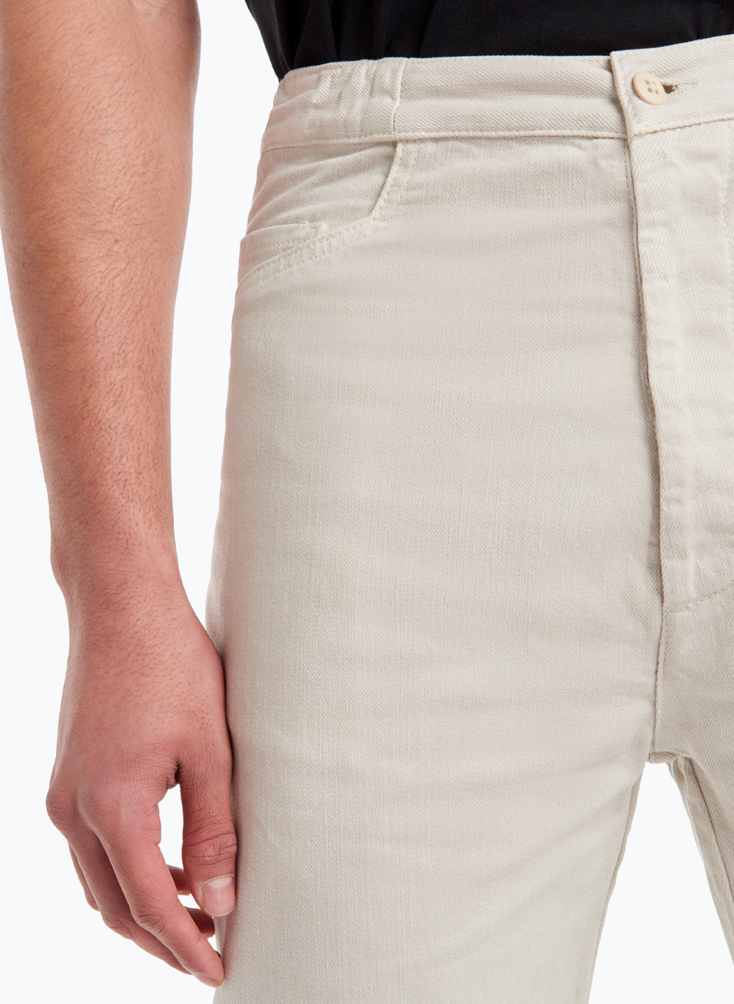 5-Pocket Pants in Beige Denim