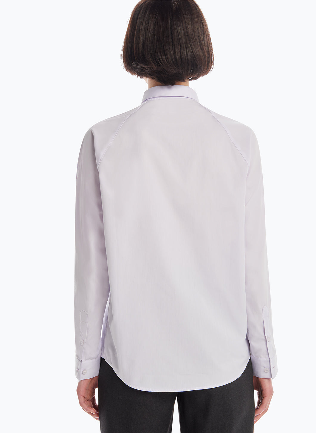Raglan Sleeve Shirt in Parma Poplin