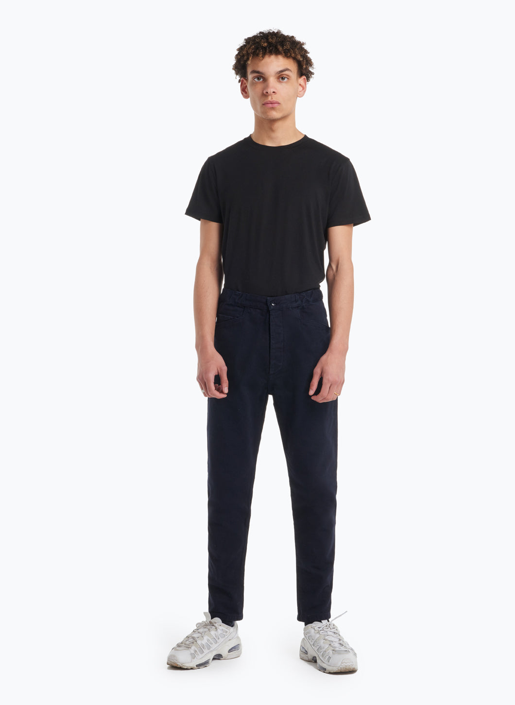 5-Pocket Pants in Navy Blue Denim