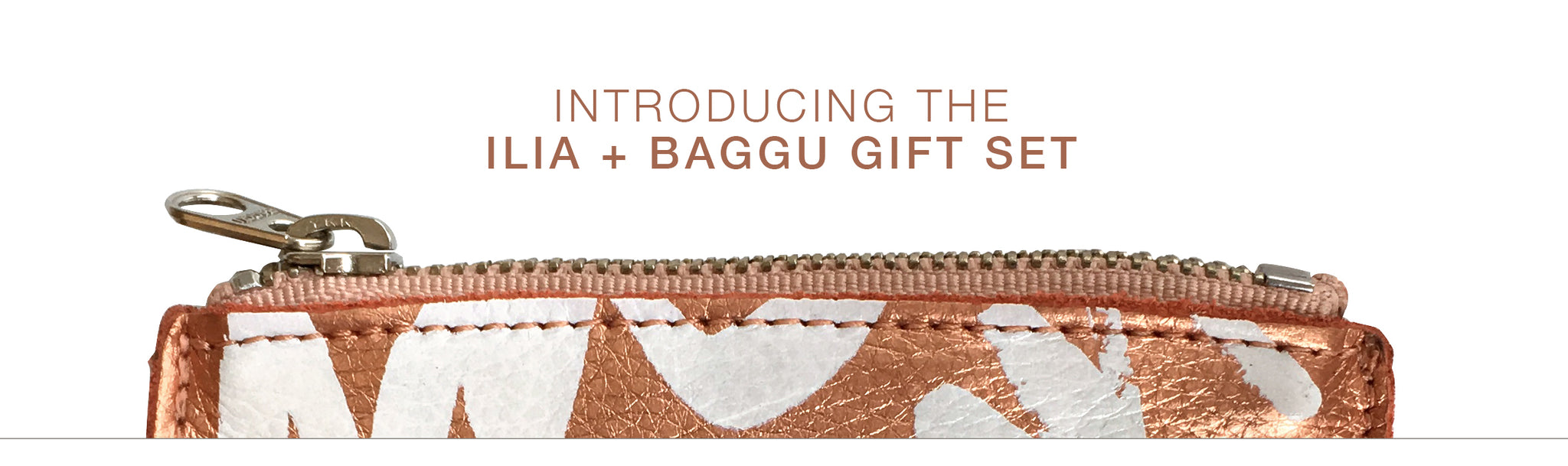 Introducing ILIA + BAGGU Limited Edition Gift Set
