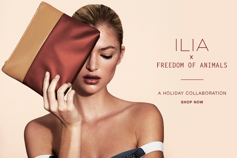 ILIA x Freedom of Animals | A Holiday Collaboration