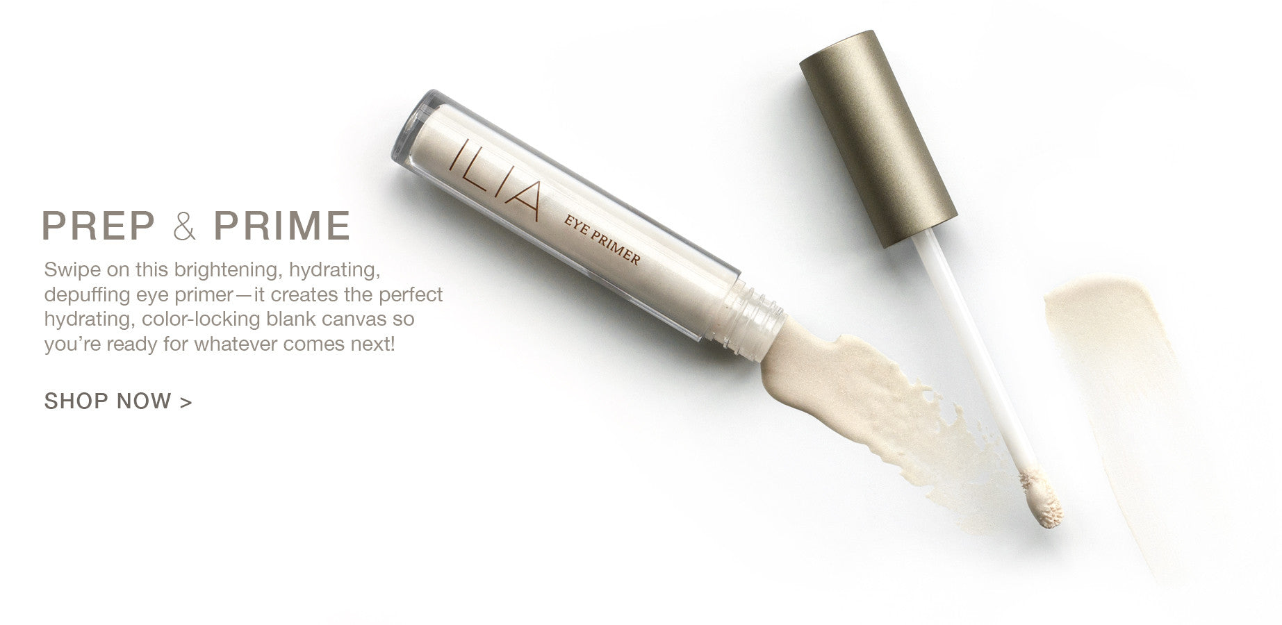 New Natural Brightening Eye Primer by ILIA