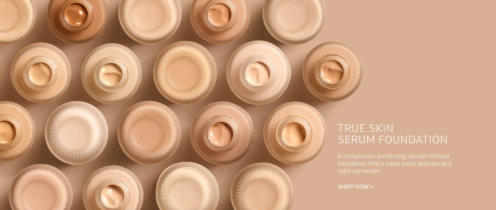True Skin Serum Foundation Available in 10 Shades