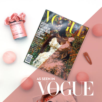 You spotted us! haircarebear are in Vogue Australia's February issue!