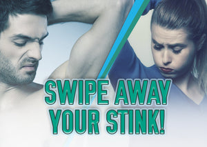 How to swipe away the stink with natural deodorant!!