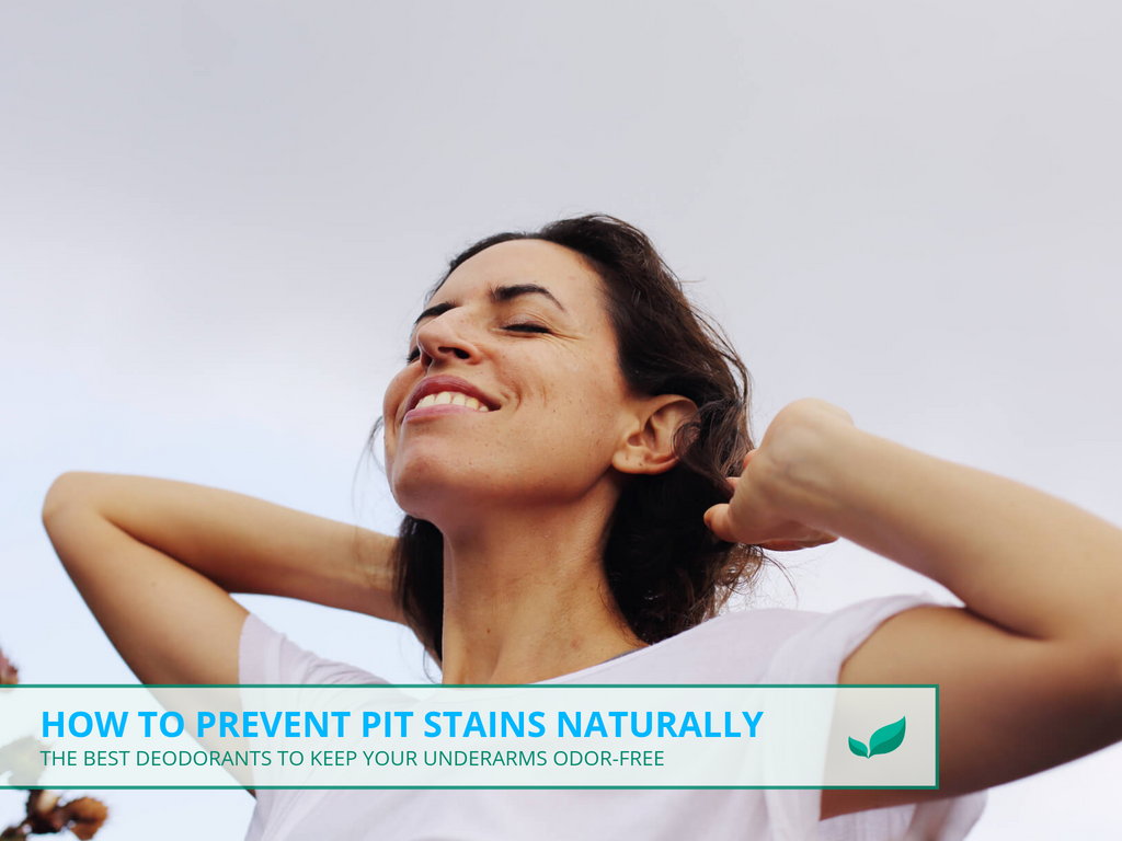 How to Prevent Pit Stains Naturally