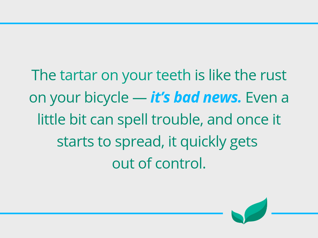 How to remove tartar