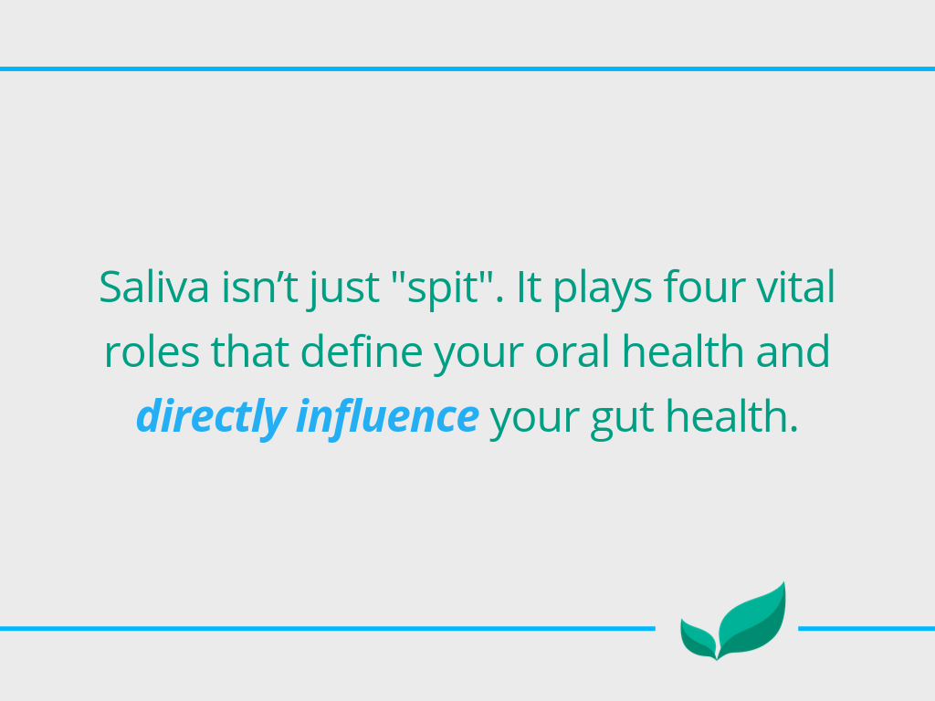 saliva and gum health