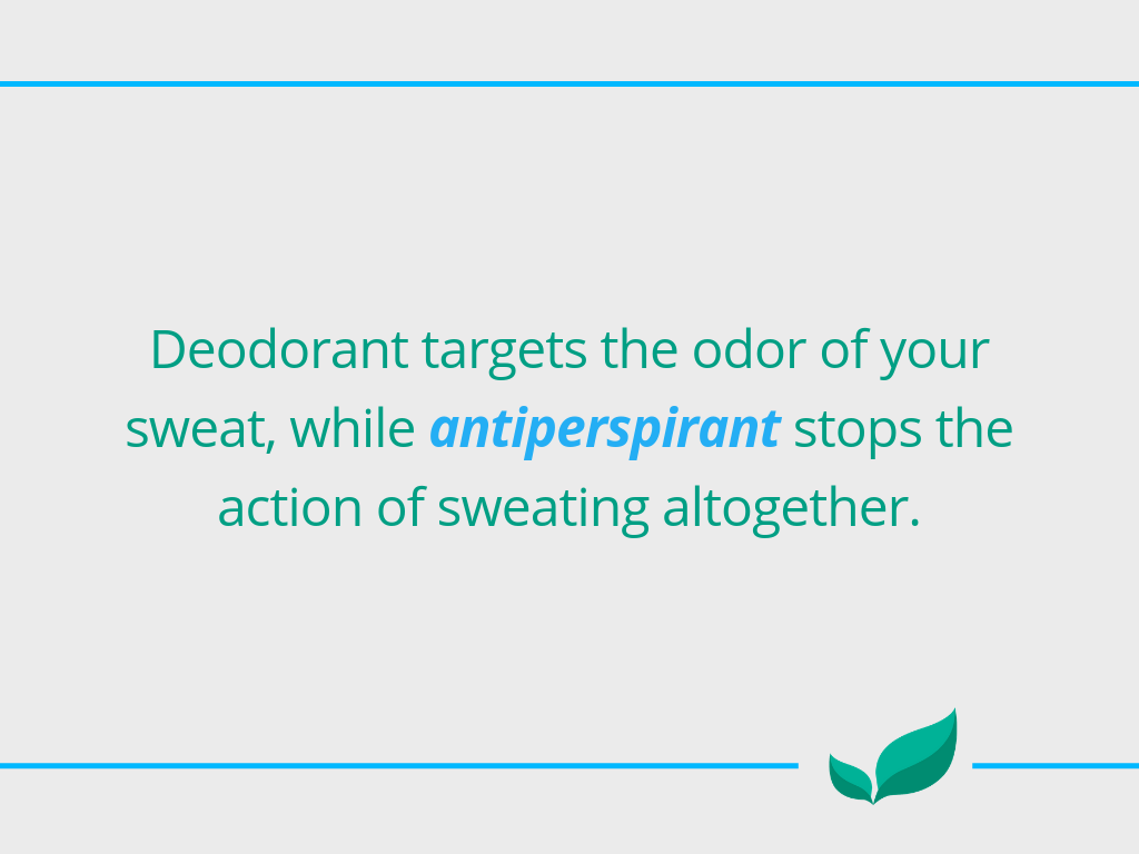 Is deodorant bad for you?