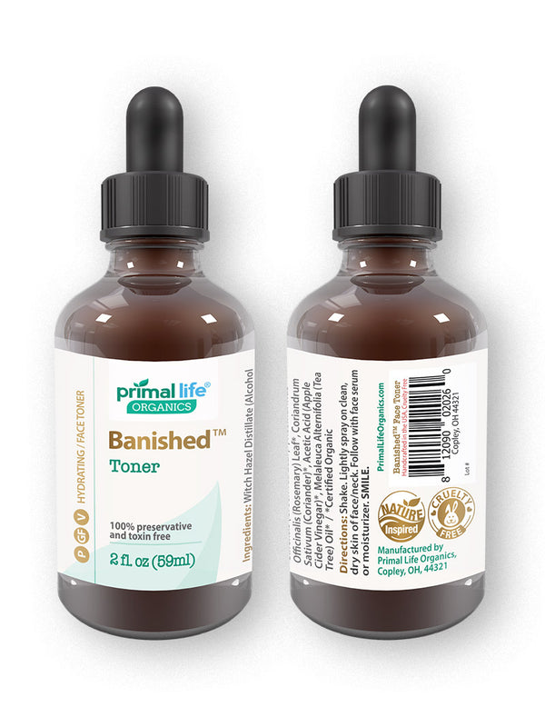 Banished face toner