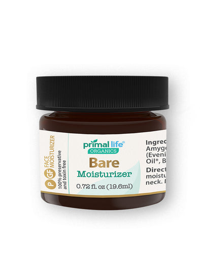 Bare Face Moisturizer, Sensitive Skin