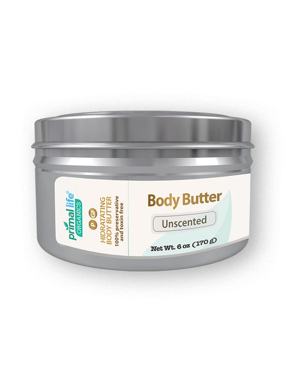 Natural Body Moisturizer, 6 oz