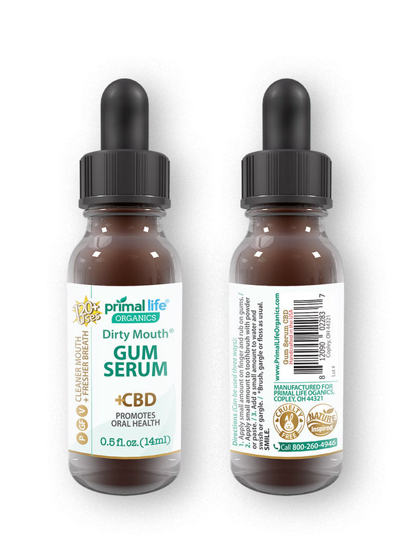 CBD Gum Serum, Dirty Mouth 0.5 oz