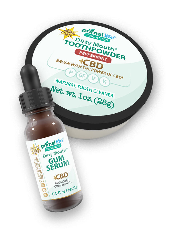 CBD Toothpowder Package