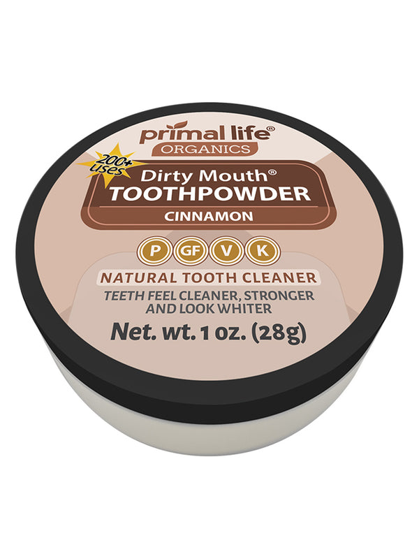 Cinnamon Dirty Mouth Toothpowder 1 oz.