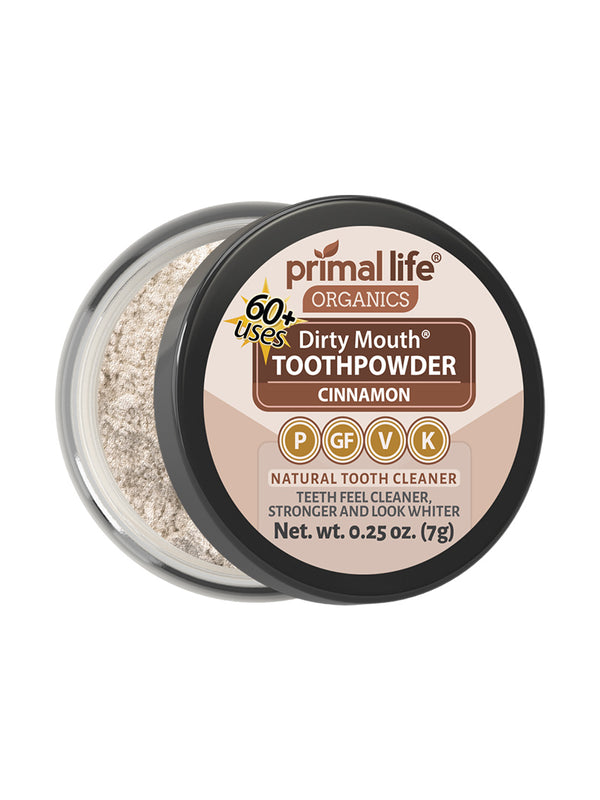 Cinnamon Dirty Mouth Toothpowder 0.25 oz.