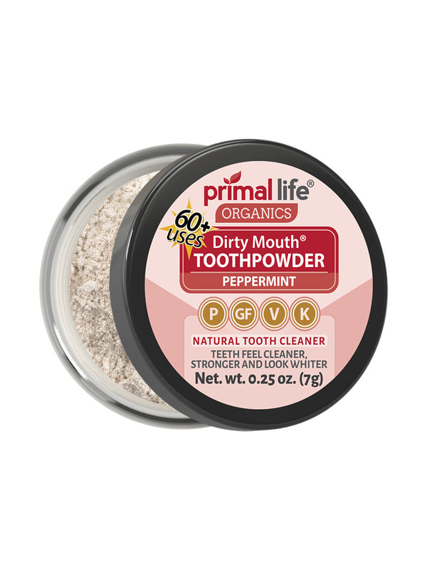 Mini Dirty Mouth Peppermint Toothpowder