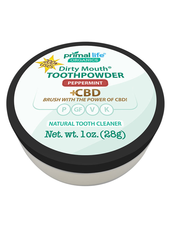 CBD Natural Toothpowder