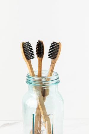 Charcoal Ion Natural Toothbrush