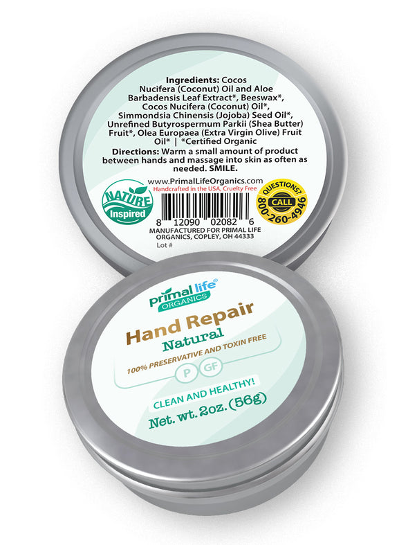 Hand Repair Unscented, 2 oz