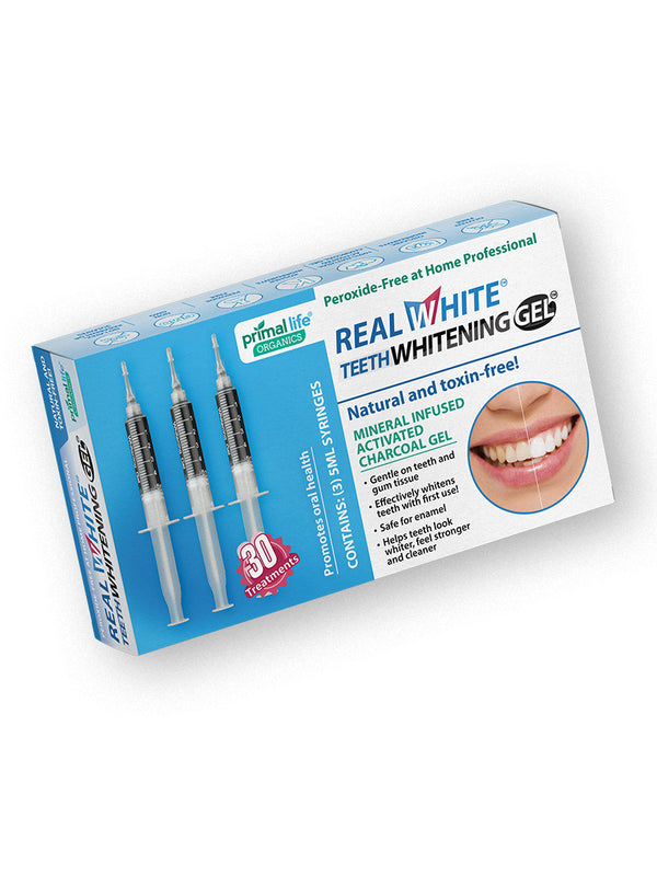 Teeth Whitening Gels SUBSCRIPTION 30 Treatments, Activated Charcoal