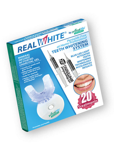 Light Activated Teeth Whitening System - Peroxide FREE