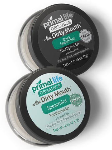 Dirty Mouth™ Toothpowder MINI Pick Two