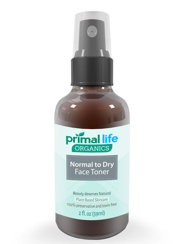 Face Toner Normal to Dry, 2 oz