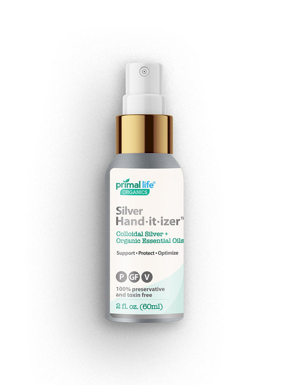 Silver Hand-it-izer Spray, Colloidal Silver+