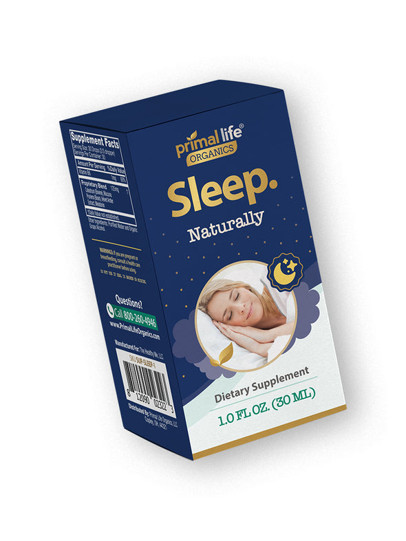 Sleep. Naturally Supplement