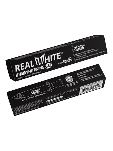 Teeth Whitening Gels- 20 Treatments, Activated Charcoal