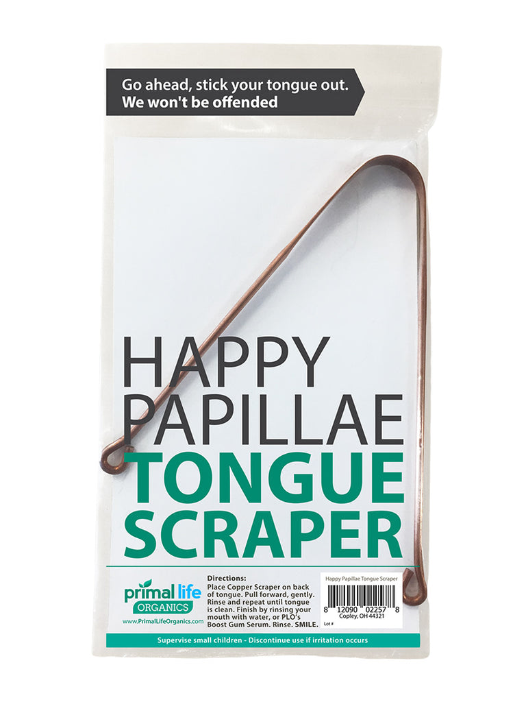 Tongue Scraper Copper Primal Life Organics 1 Best Natural