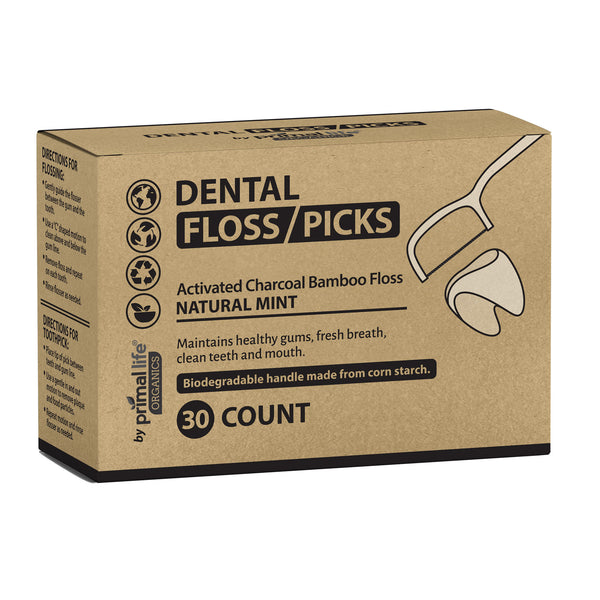 Dental Floss, Bamboo-Charcoal