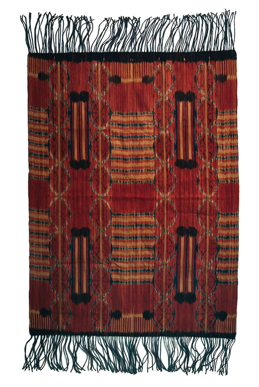 Handwoven Ikat wall hanging, ethically handmade and naturally handdyed, RUPAHAUS
