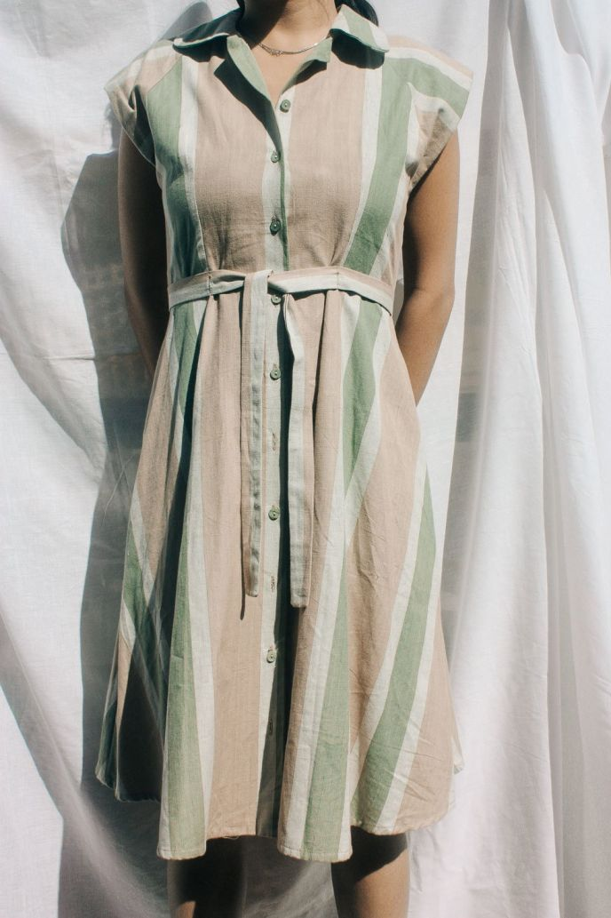 MALLORY DRESS | RHUBARB