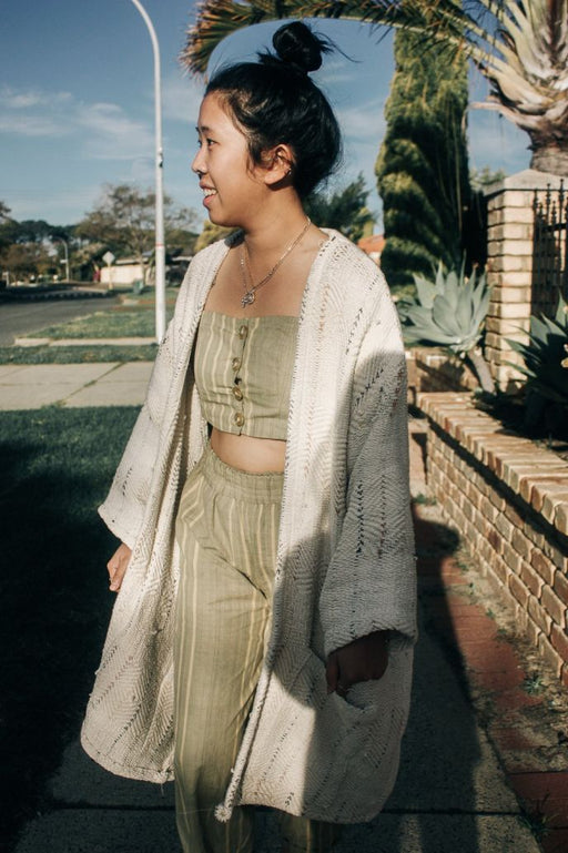 GAEA CARDIGAN | DUST