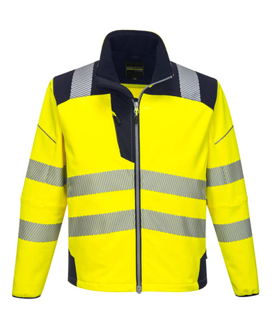 PW3 Hi-Vis Softshell Jacket
