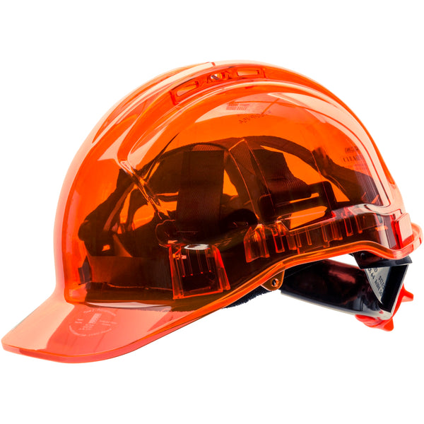 PV60 Peak View Ratchet Hard Hat Vented