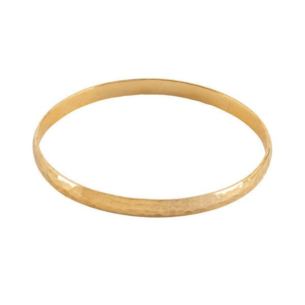 Hammer Gold Plated Bangle - shopthecrowns