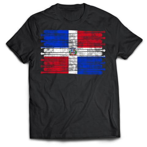 Dominican Republic Pastime Flag T-Shirt