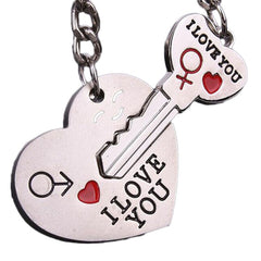 I Love You Keychain Set