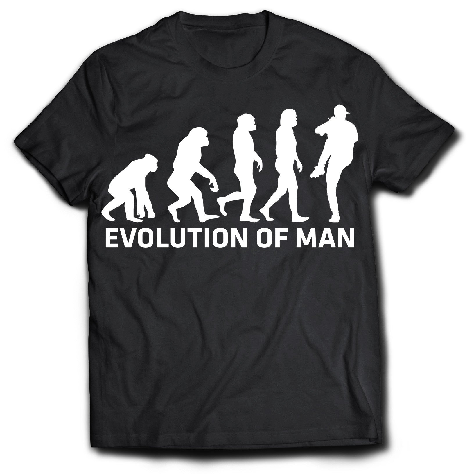 Evolution of the Pitcher T-Shirt