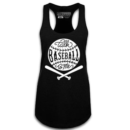 Talk Baseball To Me Tank Top