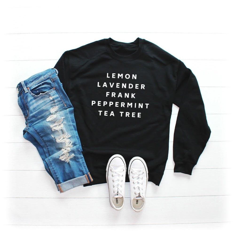 Essential Oils Sweatshirt
