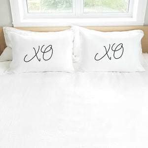 'XOXO' Pillowcase Set (pair)