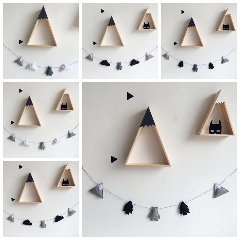 Scandi Fabric Garland