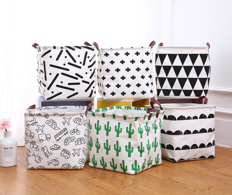 Canvas Storage Bins