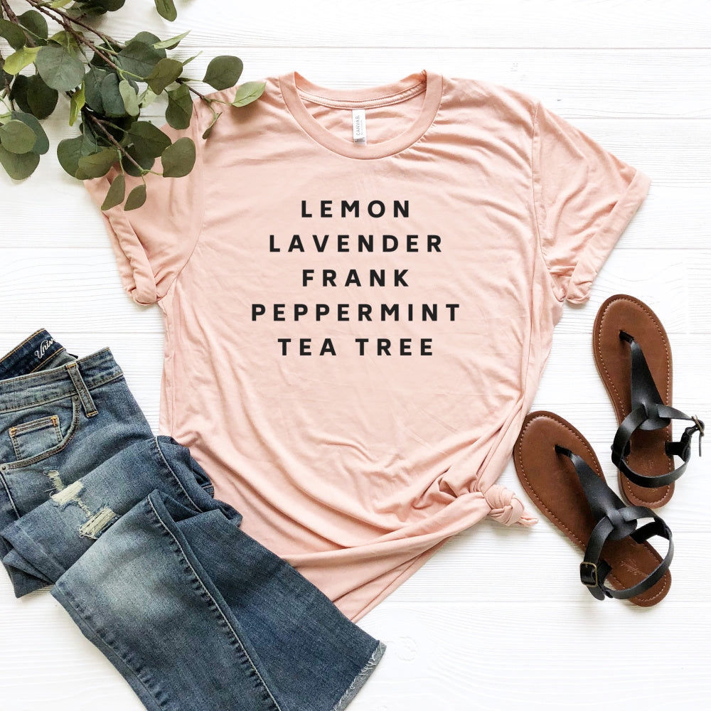 Essential Oils Tee