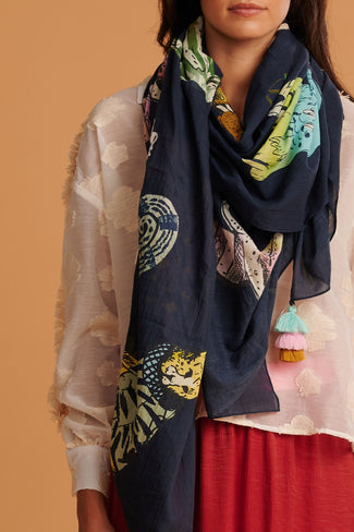 SHAWL - Jungle Wildlife