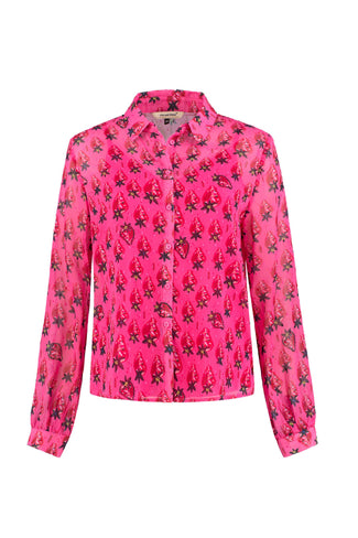 BLOUSE - Strawberry Pink